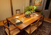 Modern dining room — Foto de Stock