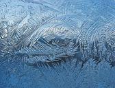 Frosty padrão no painel — Foto Stock