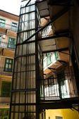 Interno di un edificio urbano — Foto Stock