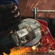 Circular saw in action — Stock Photo #7786411