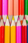 Colorful pencils closeup shot — Stock Photo