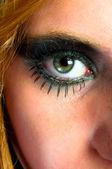 Pěkný make-up na dívku — Stock fotografie