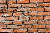 放棄されたレンガの壁 — ストック写真