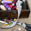 Foto de Stock  : Sewing Supplies