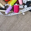 Stock Photo: Sewing Supplies