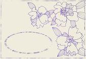 Vector Ornament Flowers 02 — Stock Vector