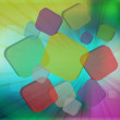3D bright abstract background - Stock fotografie