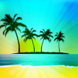 Tropical background — Stockfoto