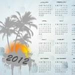 2012 calendar — Stock Photo #7175925