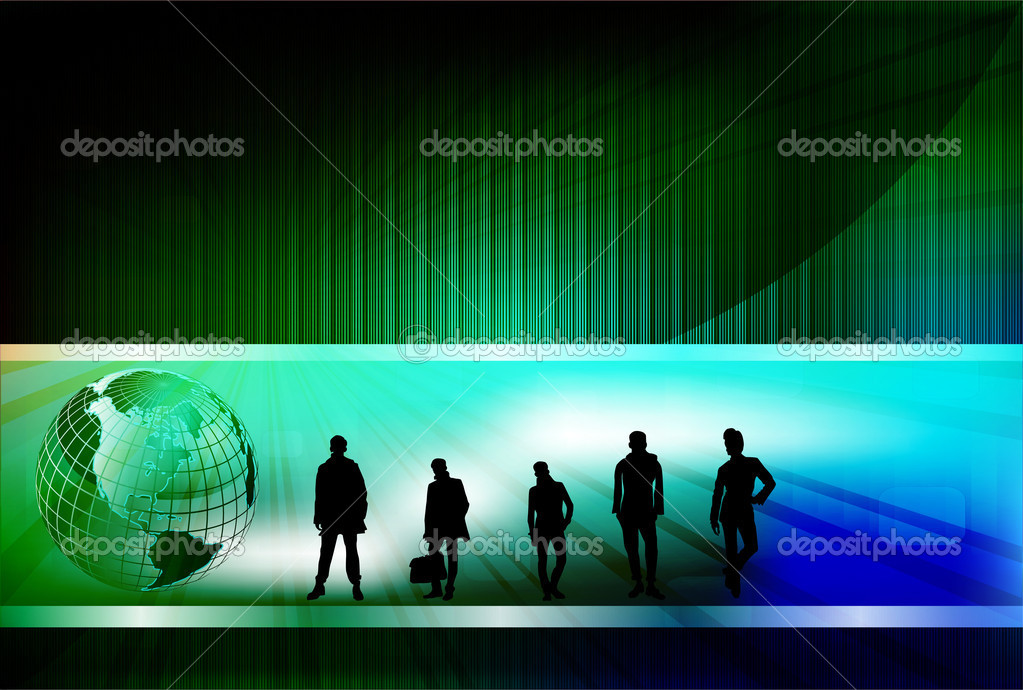 Business design, vector illustration — Stock Photo #7175856