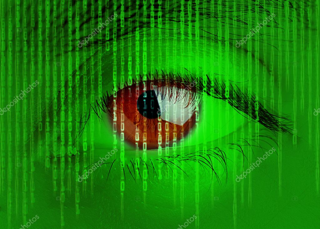 Digital eye — Stock Photo #7259580