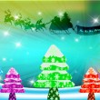 Christmas background — Stockfoto