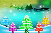 Christmas background — 图库照片