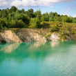 Old Chalk quarry — Stock Photo