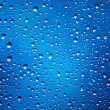 Water drops abstract background — Stock Photo