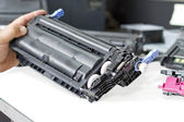 Laser toner cartridge — Stock Photo