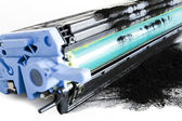 Printer toner cartidges — Stock Photo