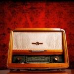 Vintage radio — Stock Photo #7956984