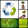 Royalty-Free Stock Photo: Environmental collage