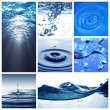 Stock Photo: Water themed collage