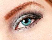 Female eye with make up — Stock Photo