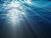水下场景 — 图库照片