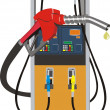 Fuel pump - Stock Vector