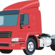 Vector truck - Stock Vector
