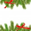 Xmas tree branches. Vector — Stock Vector #7494534