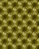 Green leather texture background. Vector illustration. — Stock Vector