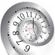 Vettoriale Stock : Infinity time. Vector illustration