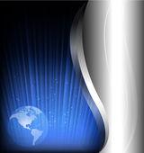 Bstract fondos de tecnología y negocios. ilustración vectorial — Vector de stock