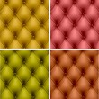 Royalty-Free Stock Vector Image: Set of color leather upholstery. Vector Illustration.