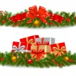 Christmas banners. Vector. — Stock Vector