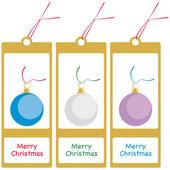 Cartões de natal — Vetor de Stock