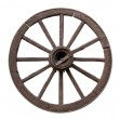 Chariot wheel — Stock Photo