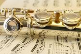 Flute mechanism — Stock Photo