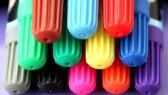Renkli keçe kalemler — Stok fotoğraf