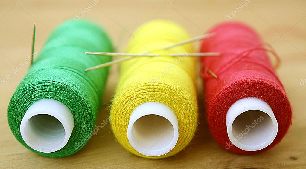 Color threads — Stock Photo #7317251