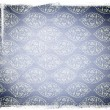 Blue Aged Paper with Ornaments — Stock Photo