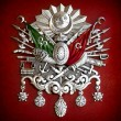 Emblem of Ottoman Empire — Stock Photo