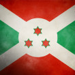Royalty-Free Stock Photo: Burundi Grunge Flag