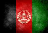 Afghan Grunge Flag — Stock Photo
