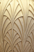 Ornamented Surface with Light — Stock Photo