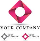 Corporate Logo Design — Stock Vector