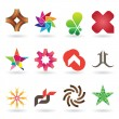 Royalty-Free Stock Imagen vectorial: Contemporary Logo and Icon Collection