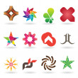Contemporary Logo and Icon Collection - Stock Vector