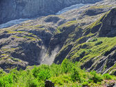 Caucasus waterfall. Dombay. Sufrudju. — Stock Photo