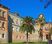 New Aphon monastery. Abhazia republic — Stock Photo