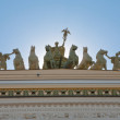 Roman quadriga — Stock Photo